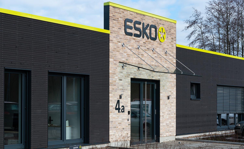 Gebäude mit bester Energiebilanz für Esko